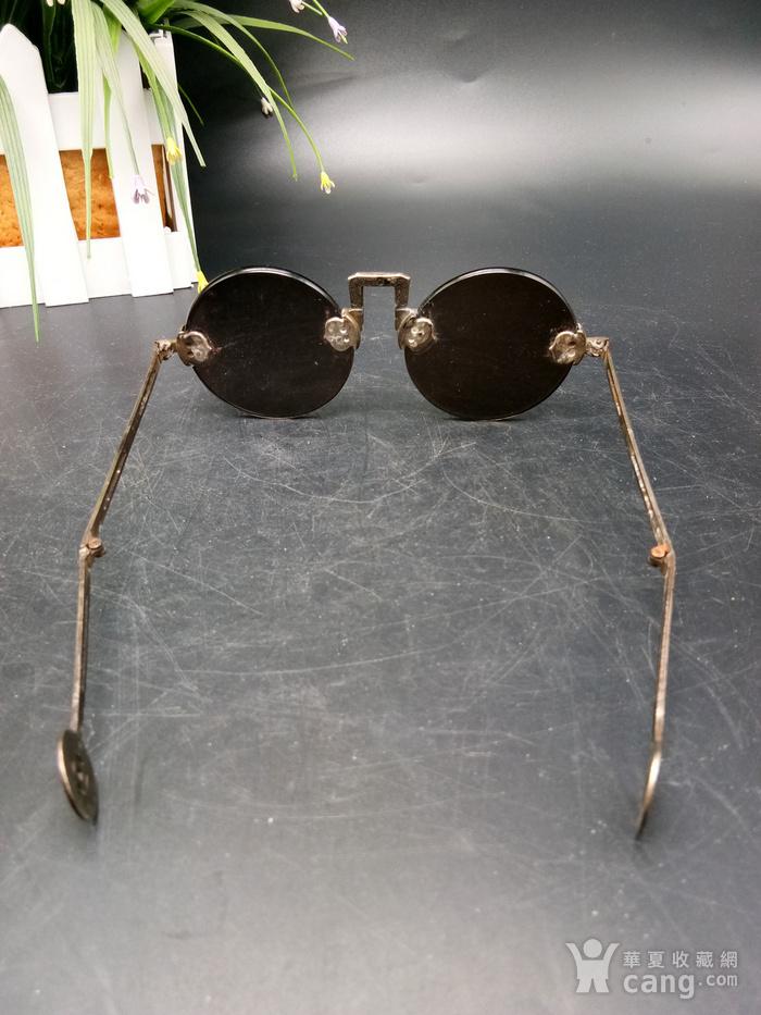 清至民国天然水晶养眼眼镜图7