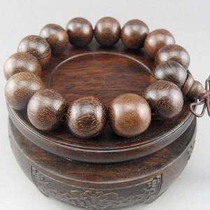 越南 沉香木16mm大珠手串