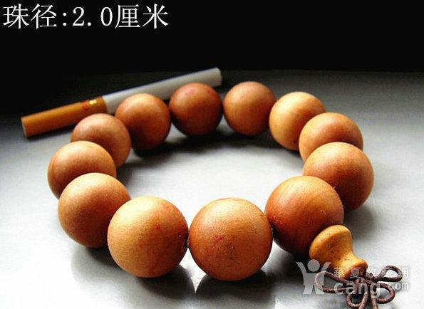 老山檀香2.0佛珠手串图1