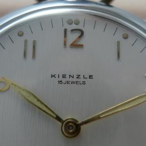 金牌 德产Kienzle机械怀表 60年代,亦旧亦新