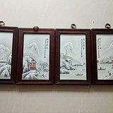 金牌  珠山八友何许人的《雪景图》