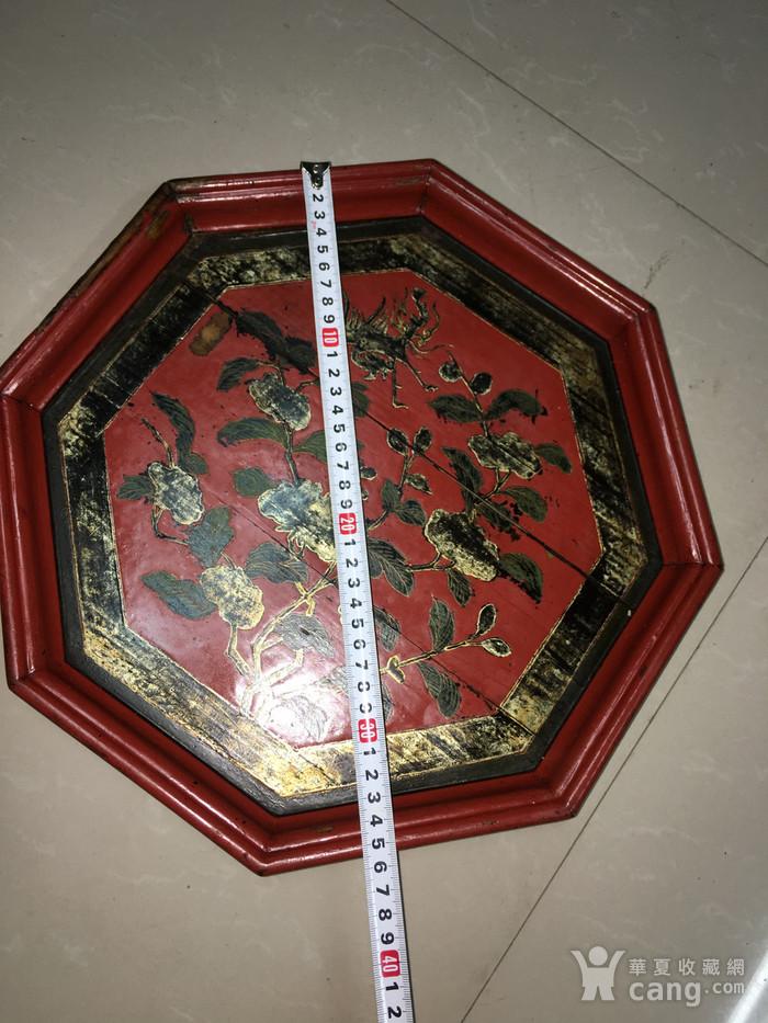 清 十里红妆八角盘图2