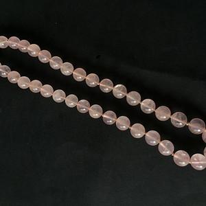 8117欧洲回流粉水晶项链
