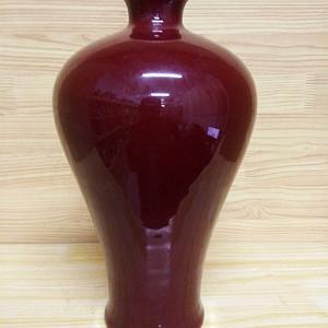 联盟 剂红梅瓶