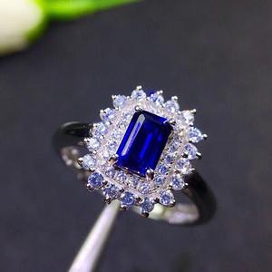 联盟  爆款斯里兰卡蓝宝石戒指