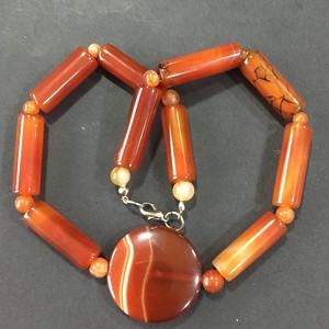 8133欧洲回流玛瑙项链