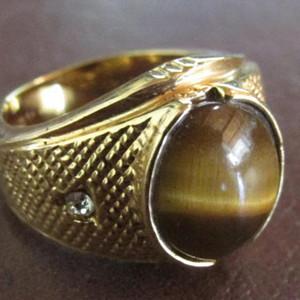 回流之宝石镶嵌钻石戒指