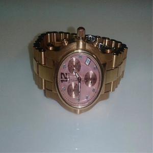 玫瑰金手表男女通用全新