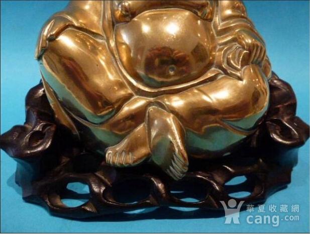 铜弥勒造像图2