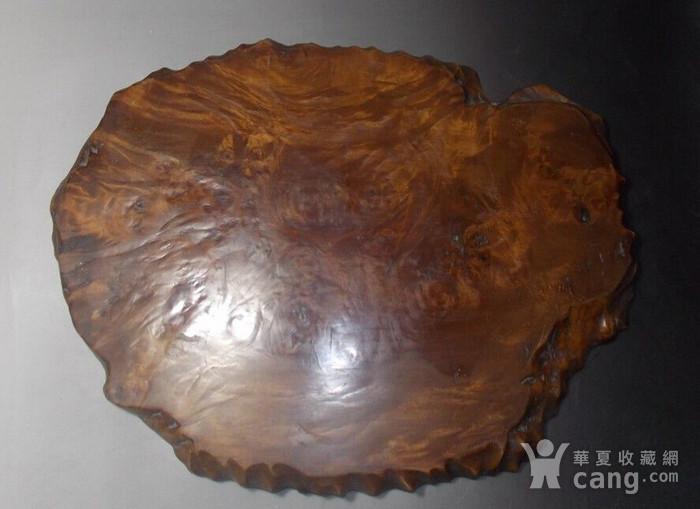樱木独板茶盘图1