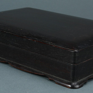 陈列馆红木砚盒