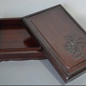 红木大型砚盒