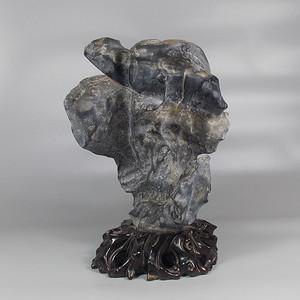灵璧石造型摆件
