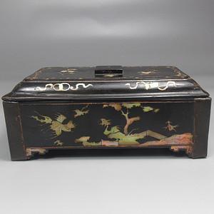 酸枝螺钿文房盒