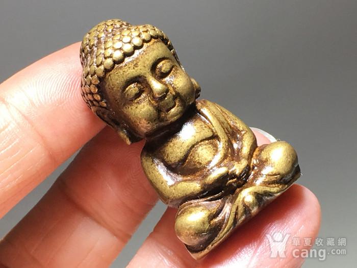 民国 藏传 释迦牟尼 佛像 工艺精美 百年供奉图1