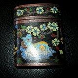 民国景泰蓝盒