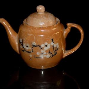 民国梅花小茶壶