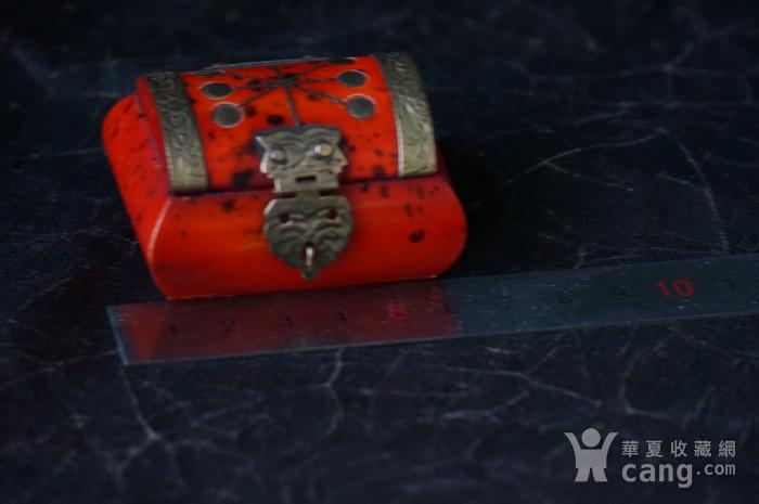 天然骨料镶嵌铜饰小首饰盒图8