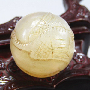 清玛瑙 海中青 大珠包浆醇厚