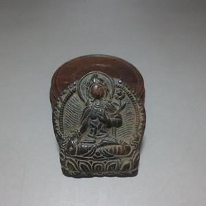古代老青铜佛像