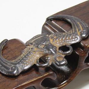 清老铜打造 福临门 挂件 包浆厚重