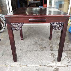 红酸枝方桌