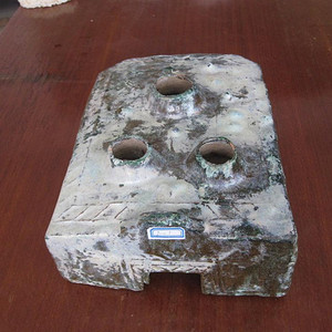 汉代绿釉灶《1》