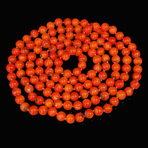 早期收藏老陌陌shanhu圆珠项链