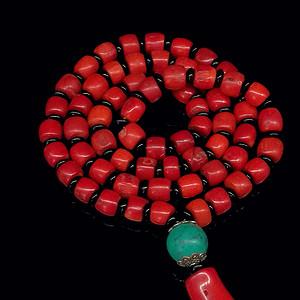 意大利沙丁shanhu算珠项链