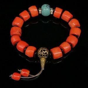 台湾老陌陌shanhu桶珠手链