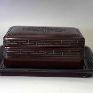 清代漆器果盒