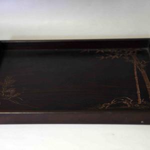 民国紫檀木托盘