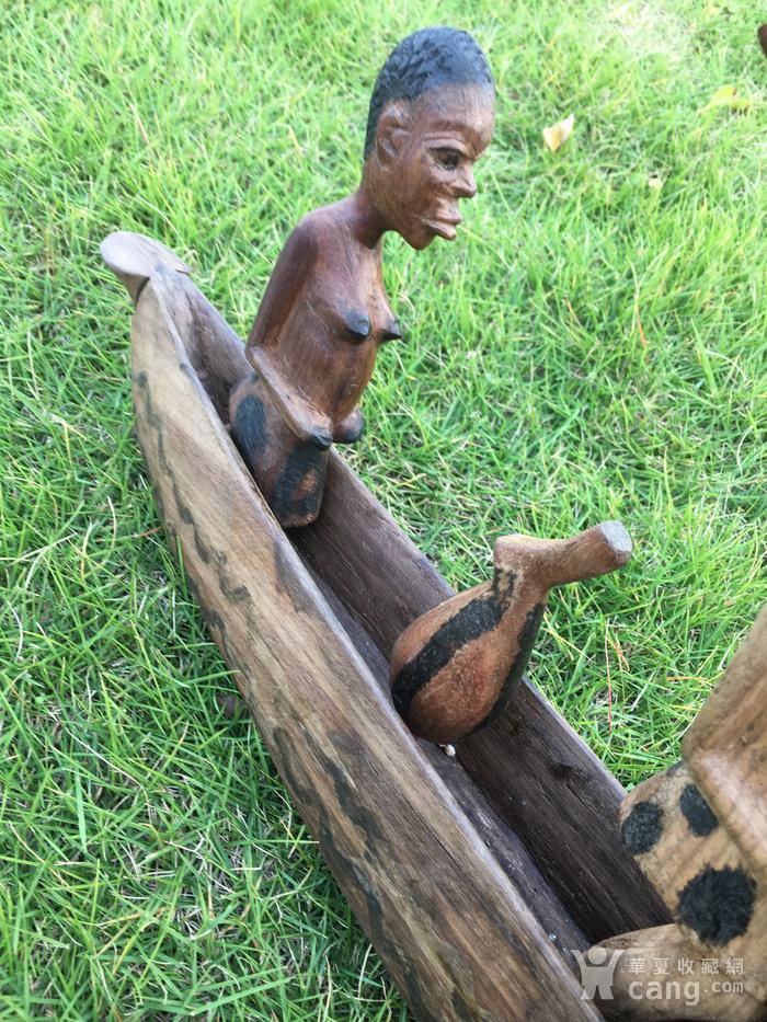 非洲木雕独木舟图7