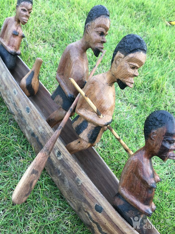 非洲木雕独木舟图8