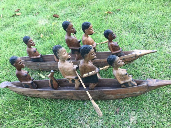 非洲木雕独木舟图10