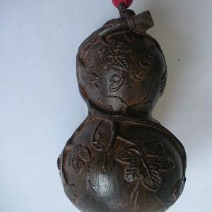 木雕葫芦 福禄