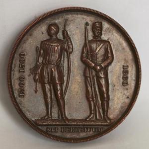 英国1860年传统步QIANG协会纪念大铜章