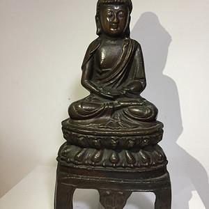 明代铜佛祖