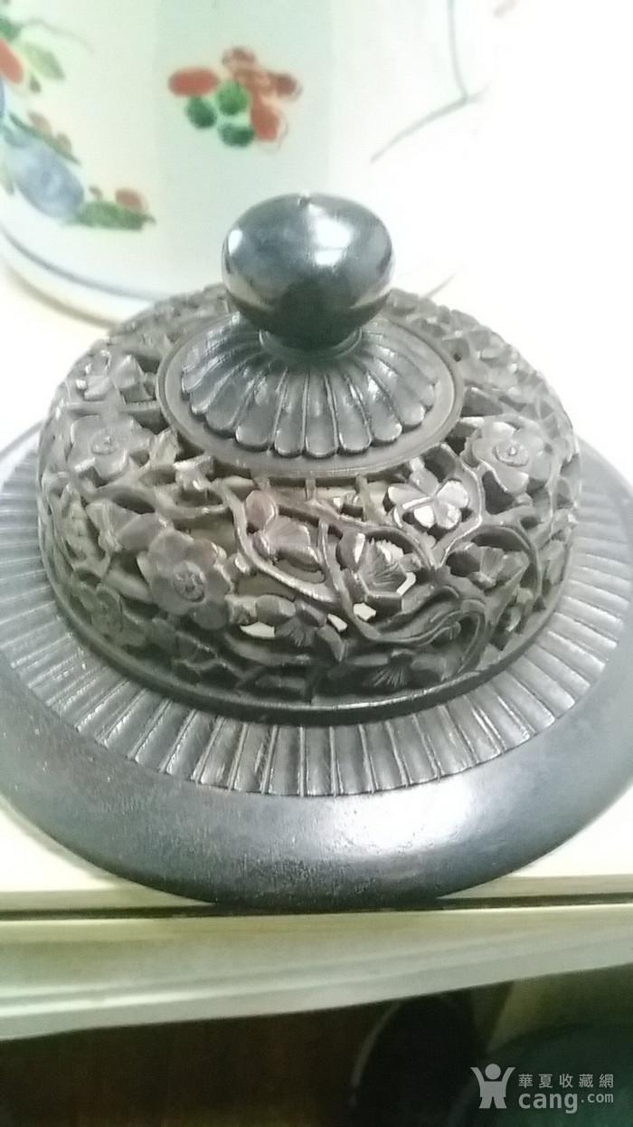 康青花五彩大罐图7