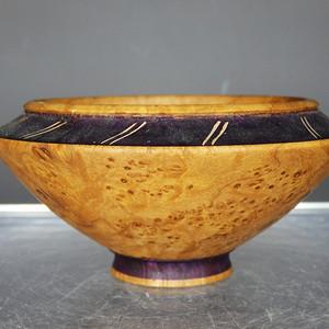 维多利亚时期瘿木斗笠碗