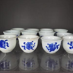 文革时期花卉杯