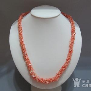 回流 天然珊瑚 项链 终身保真 48克