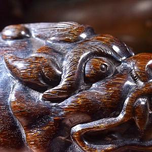 联盟 原创纯手工雕刻貔貅
