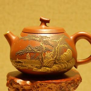 清代乾隆年制款紫砂壶