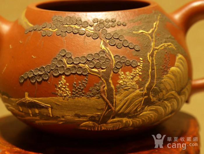 清代乾隆年制款紫砂壶图片