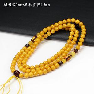 天然蜜蜡圆珠挂链0703