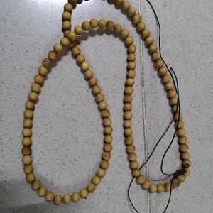 崖柏木雕1.0项链包真崖柏珠子直径1厘米全长80厘米