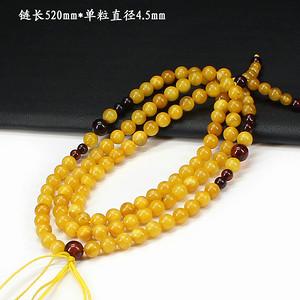 天然蜜蜡圆珠挂链0711
