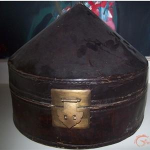 清朝官帽盒