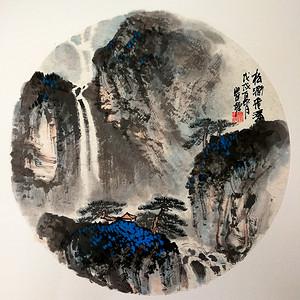 著名山水画家 瞿塘 山水小品系列